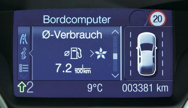 Анализ расхода топлива для Ford Focus
