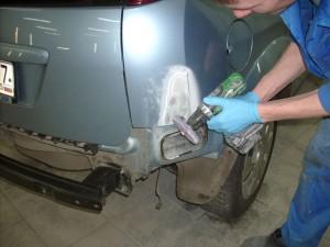Локальный ремонт кузова автомобиля
