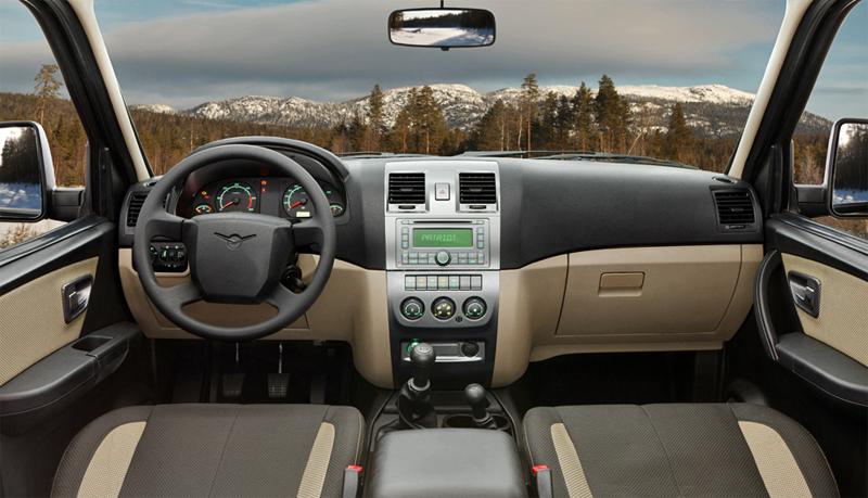 УАЗ Патриот расход бензина - фото интерьер