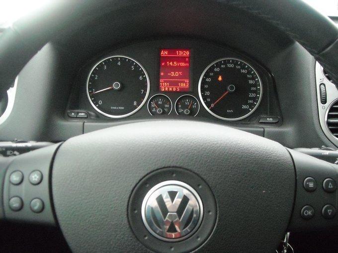 Фольксваген Тигуан расход бензина