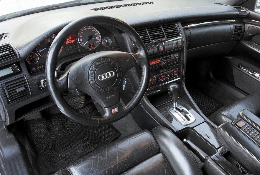 Audi 100 фото салон