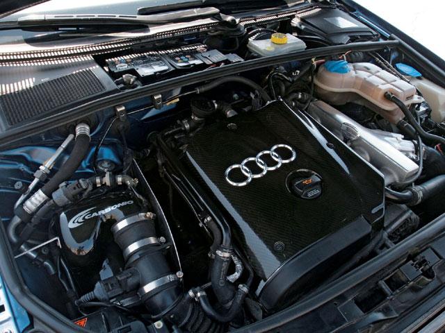 Audi A4 двигатель фото