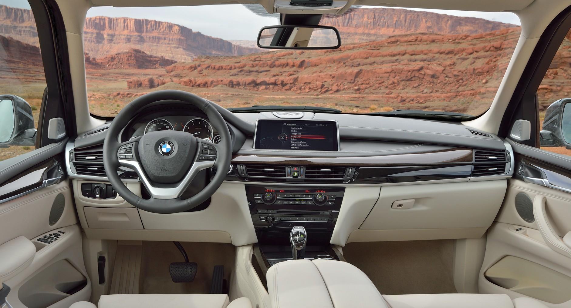 BMW X5 интерьер фото