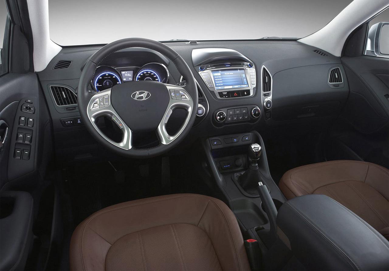 Hyundai IX35 интерьер