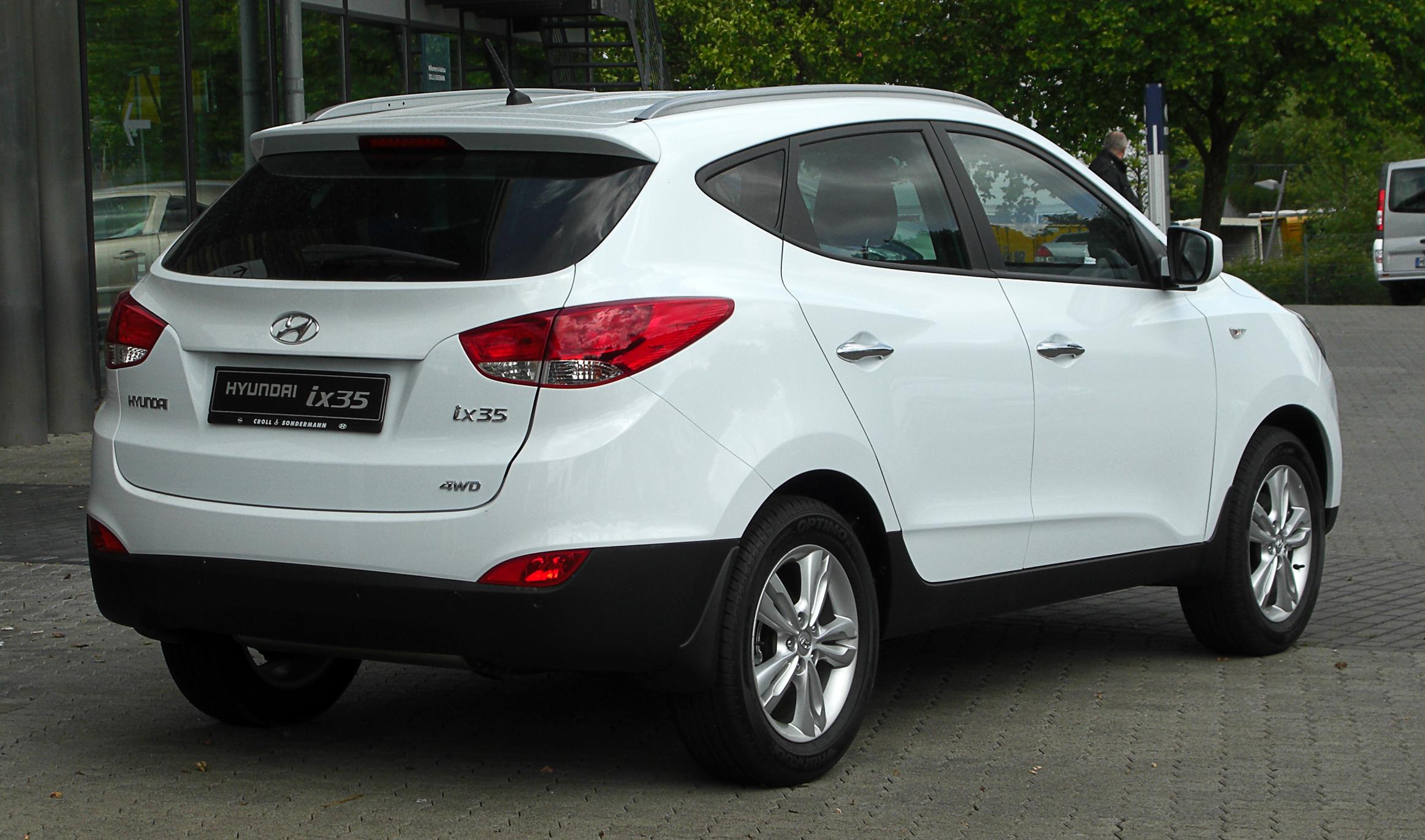 Hyundai IX35 расход топлива