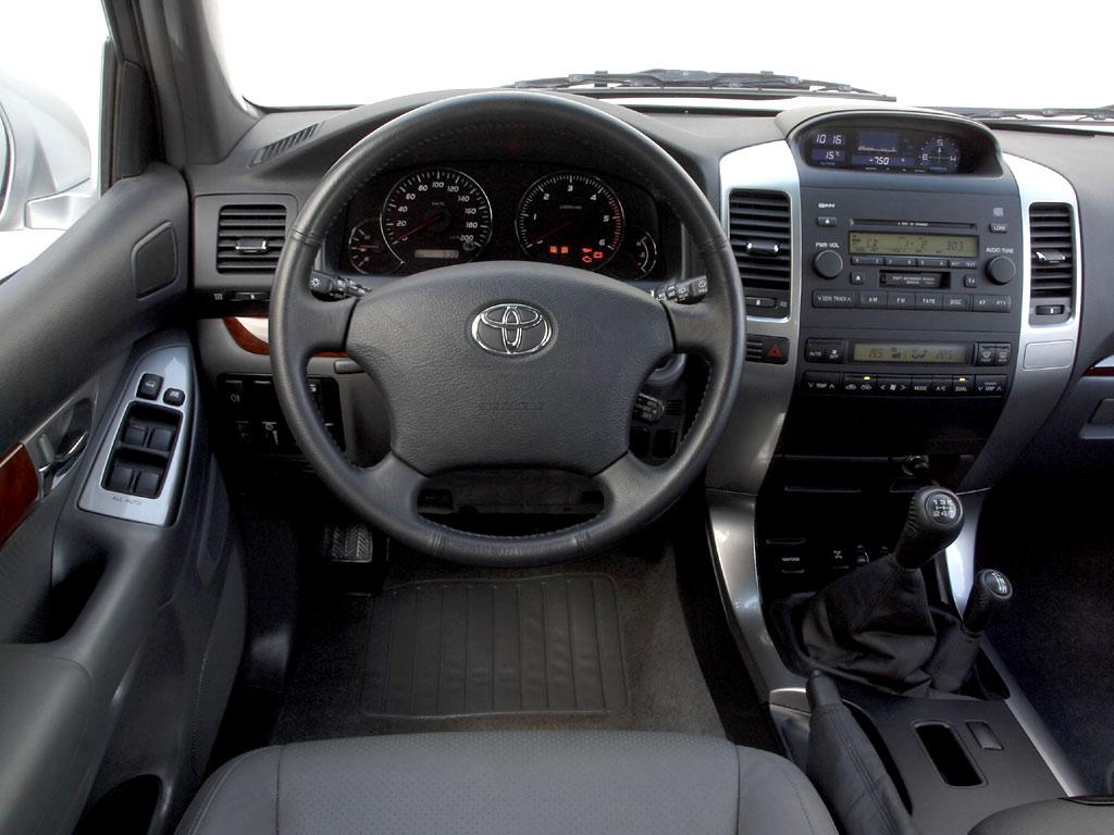 Toyota Land Cruiser Prado расход бензина