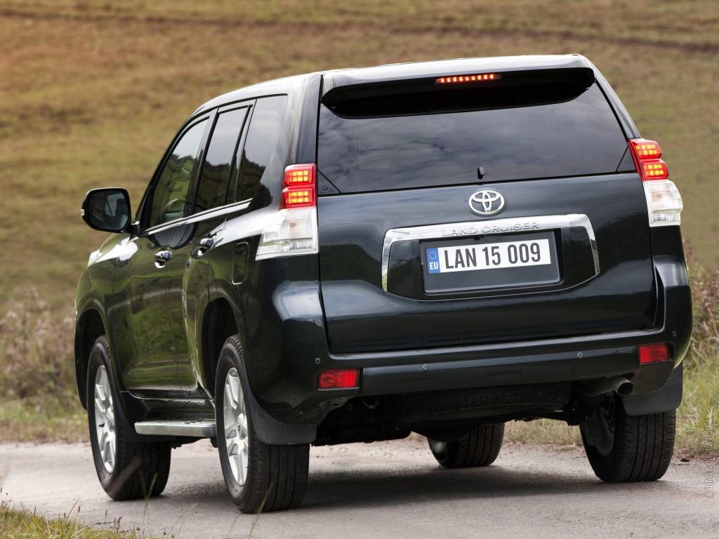 Toyota Land Cruiser Prado расход топлива
