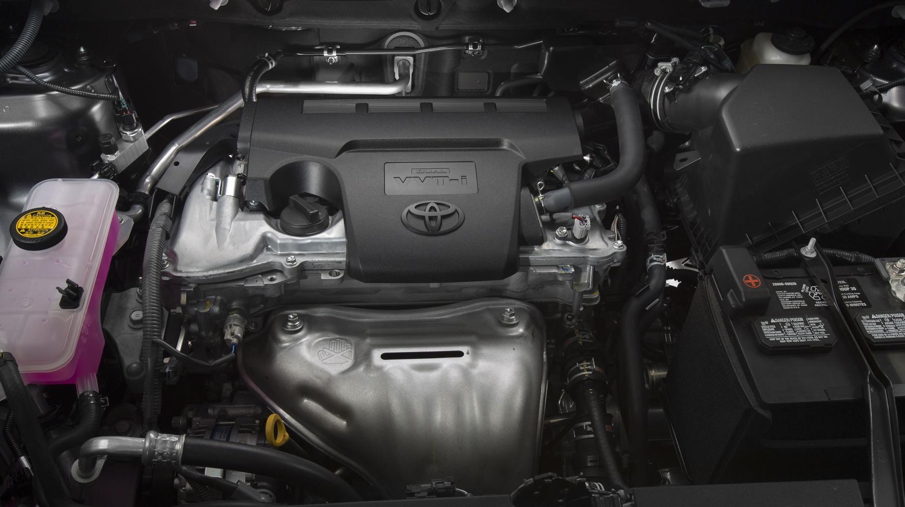 Toyota Rav 4 фото двигатель
