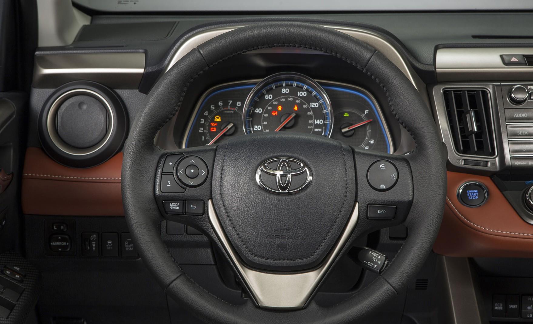 Toyota Rav 4 фото интерьер