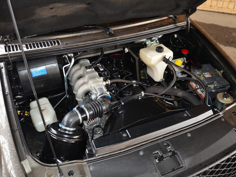 UAZ Patriot двигатель фото