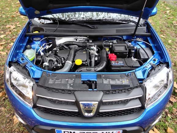 Renault Sandero Stepway фото двигатель