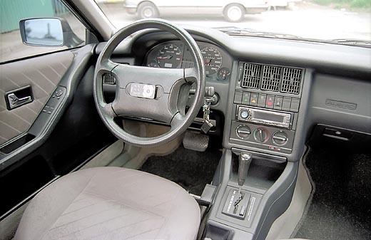 Audi 80 интерьер