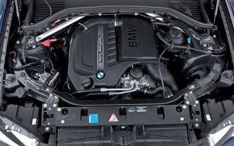 BMW X3 фото двигатель