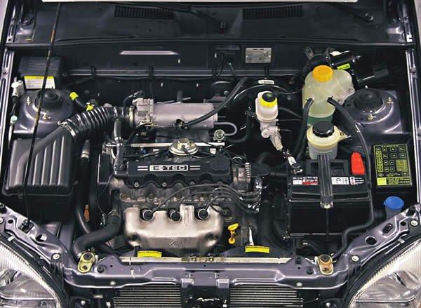 Chevrolet Lanos фото двигатель
