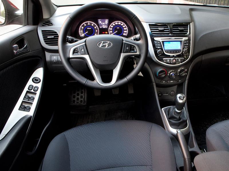 Hyundai Solaris фото интерьер