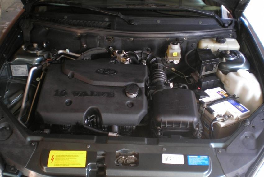 Lada Priora фото двигатель