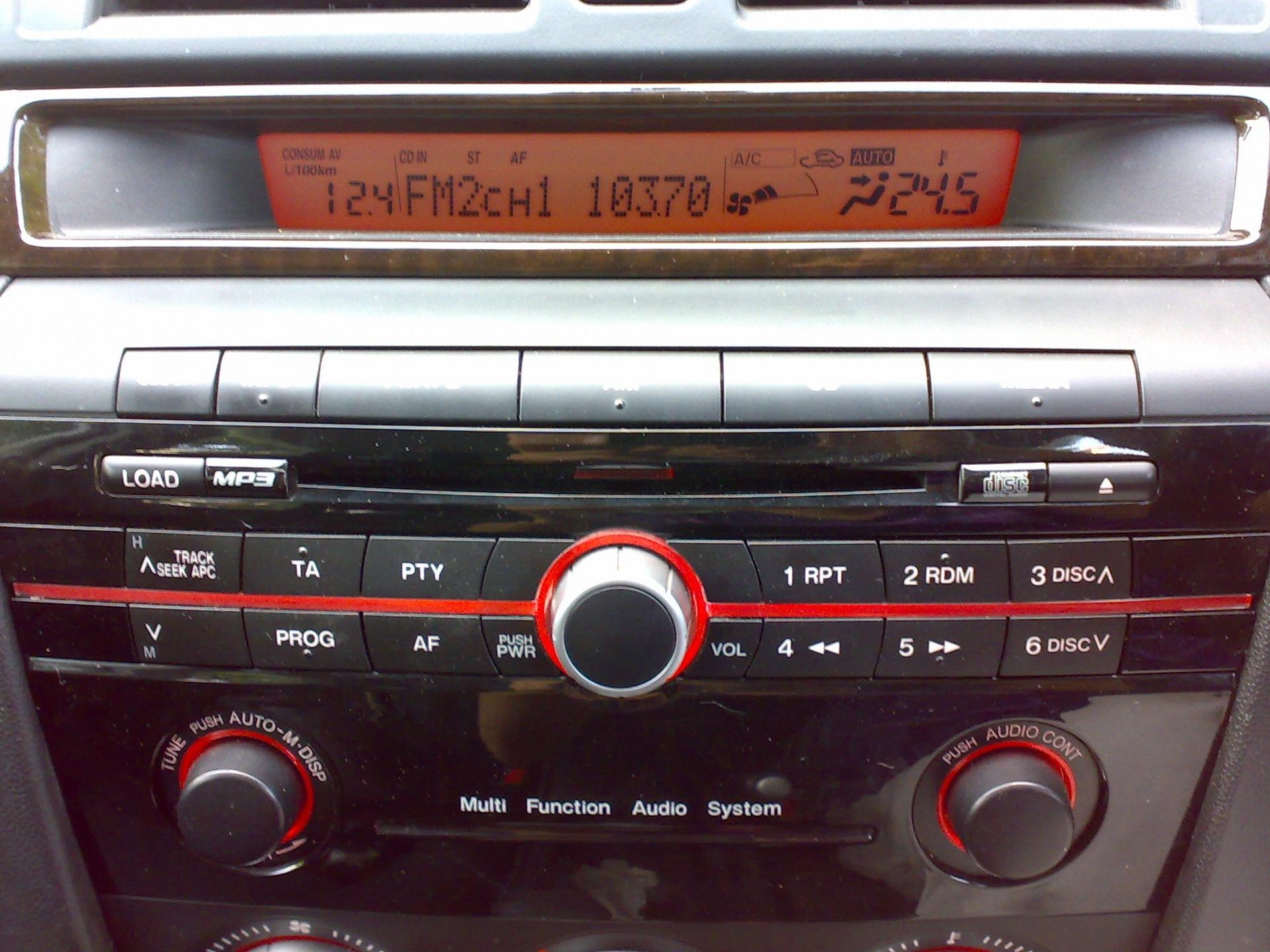 Mazda 3 расход топлива
