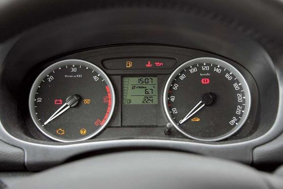 Шкода Фабия расход бензина от DriverNotes