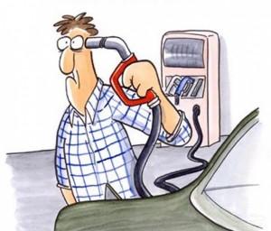 Почему большой расход бензина