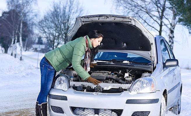Как завести двигатель автомобиля в сильный мороз фото