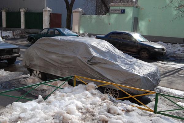 Как хранить автомобиль на улице